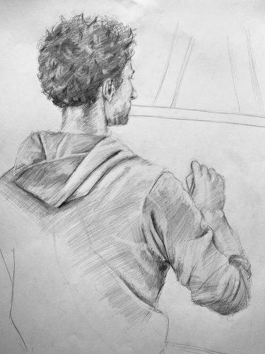 frieder von marie gezeichnet